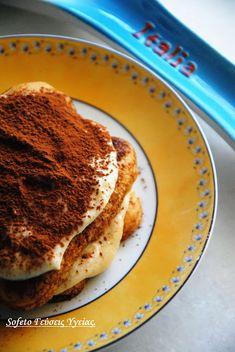 Γλύκισμα τύπου Tiramisu χωρίς ζάχαρη και με λίγα λιπαρά ! Συνταγές για διαβητικούς Sofeto Γεύσεις Υγείας Cookbook Recipes, Cooking Recipes, Diabetic Friendly, Healthy Desserts, Tiramisu, French Toast, Breakfast, Food, Health Desserts