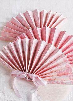 Ornamento - Origami Fan Romantico