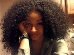 Natural Hair...I can't wait until my hair is this length!!!