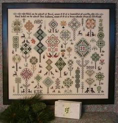 1000 images about samplers needlework on pinterest