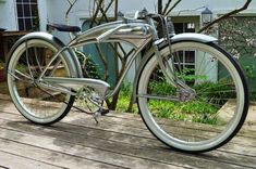Vintage Retro Bicycle Higgins Shelby Monark Elgin Tank Bike 26 Custom Rat | eBay