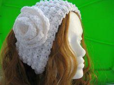 Ravelry: Super Easy Textured Ear Warmer pattern by CrochetDreamz Basic Crochet Stitches, Crochet Basics, Crochet Patterns, Craft Patterns, Crochet Ideas, Crochet Hat With Brim, Crochet Hats, Popcorn Stitch, Ear Warmer Headband