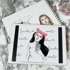 "Fashion Illustration na Instagramu: ""Kdyz mas inspiraci @luciee_violet 💋 #fashionillustration #digitalpainting #markers#copicmarker#facepaint…"" Illustration, Fashion, Moda, La Mode, Illustrations, Fasion, Fashion Models, Trendy Fashion"