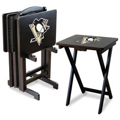 Pittsburgh Penguins TV Trays with Stand - $238.99