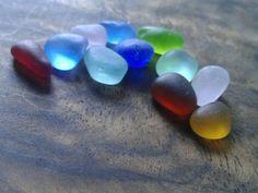 Red Cobalt Aqua Cornflower Lilac Gold Genuine Sea Glass Gems Beach Jewlery Jq | Crafts, Glass & Mosaics, Beach Glass - Surf-Tumbled | eBay!