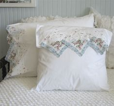 hankie pillowcases - susan branch