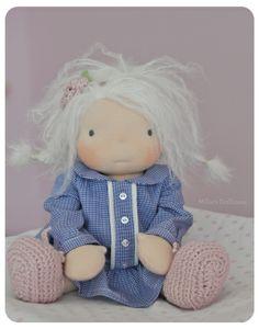 "*RESERVED* Little Suzetta - An 11"" Millie's Dollhouse Doll"