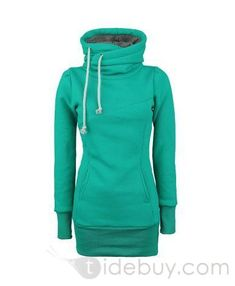 New Arrival Popular Top Quality Pure Color Slim Hoodie : Tidebuy.com