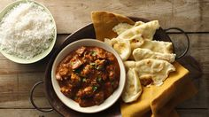 Slow-Cooker Butter Chicken recipe and reviews - Aromatic scents will fill your house as this classic Indian take-out dish cooks away in the slow cooker.