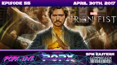 This week, POPX dives into Marvel's new and fifth Netflix series Iron Fist, as we uncover some of the pros and cons from the show. When Danny Rand was Geek Culture, Pop Culture, Danny Rand, 10 Year Old, 10 Years, Iron Fist, Netflix Series, Science Fiction, Growing Up