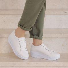 White Beige, Tabata, Footwear, Sneakers, Fashion, Tennis, Moda, Slippers, Shoe