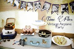Dirt Stains and Paint: Time Flies: Airplane Birthday Party