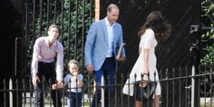 Life Through My Eyes: Prince George watches his parents leave for their visit to Cornwall September 1, 2016
