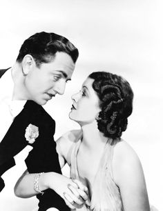 1930's Myrna & William--roaring 20's 30's