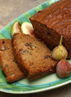 Fresh Fig & Pecan Bread FINALLY found something to make with all those figs!!!