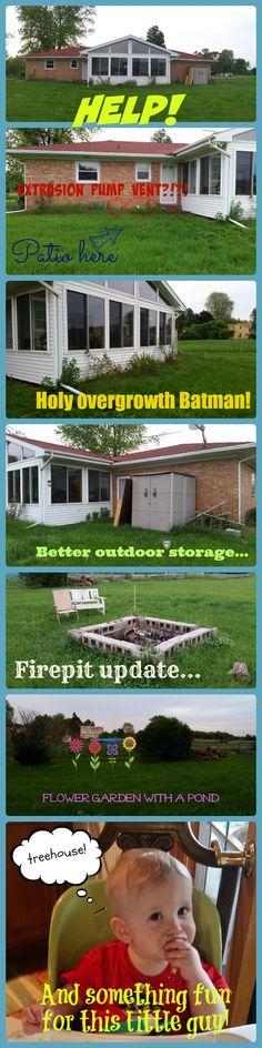 Help @mrdrewscott, @mrsilverscott! I need some help with my backyard!