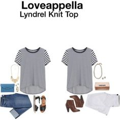 Loveappella Lyndral Knit Top