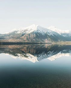Spring on the North Shore of Lake McDonald.  By @morganphillips #discovermontana