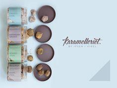 Karamelleriet by Bessermachen DesignStudio, via Behance