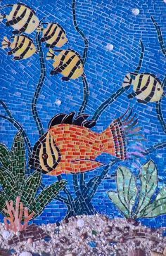Mosaic Fish on Pinterest | Mosaics, Mosaic Animals and Fish