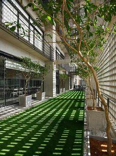 Green Facade, Passive Design, Interior Garden, Interior Design, Trade Centre, Parking Design, Private Garden, Terrace Garden, Outdoor Spaces