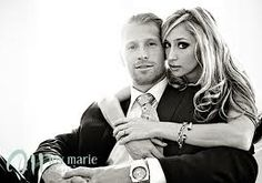 Engagement picture - Simple yet so elegant!! Love that they are dressed up, classy classy!