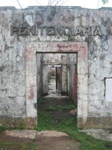 Ghosts Of Coiba Island Prison Sitting in remote waters of the Pacific, surrounded by shark infested waters, is one of Panama's most disturbing and haunted places. Coiba Island Prison was used  to house some of the most vicious criminals in Panama, as well as political prisoners during the rule of dictators Omar Torrijos and Manuel Noriega.