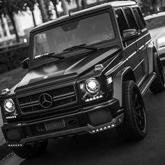 All Black G-Wagon   cc: @luxurylifestyleworldwide  photo: @paid2shoot by Ed Zimbardi http://edzimbardi.com