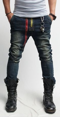 Details about New Black Combat Boots for men, Men Military Boots, Handmade rock ankle Boots New Handmade Men Black Combat Boots, Men Military Boot, Mens Lace Up Boots Rugged Style, Mens Lace Up Boots, Jeans And Boots, Leather Boots, Denim Boots, Biker Jeans, Denim Jeans, Leather Jackets, Military Fashion