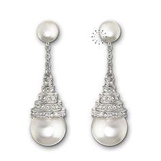 Σκουλαρίκια Perpetual Drop Swarovski KOSMIMA.gr Swarovski, Pearl Earrings, Drop, Pearls, Jewelry, Pearl Studs, Jewlery, Jewerly, Beads