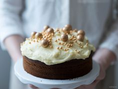 a carrot cake from Viena K