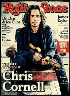 Chris Cornell.  Wow! ❤❤