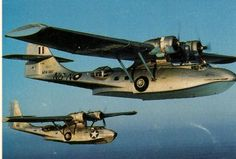 """PBY Catalina """"patrol boat"""" by Consolidated"""