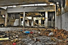 Abandoned Building by Firdaus Mahadi, via Flickr