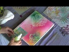 Fast and Fancy Mixed Media Backgrounds Lesson 5.mov