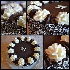Harlekýn průměr o24cm Cream Cake, Cake Decorating, Om, Birthday Cake, Pudding, Cake Ideas, Dessert Ideas, Custard Cake, Cream Pie