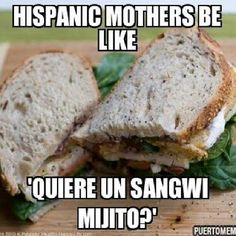 Hispanic mothers be like. Spanish Sayings, Spanish Humor, Cubans Be Like, Hispanics Be Like, Puerto Rico Usa, Cuban Culture, Mexican Humor, Papi Chulo, Puerto Ricans