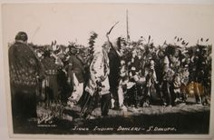 Native American Sioux Indian Dancers