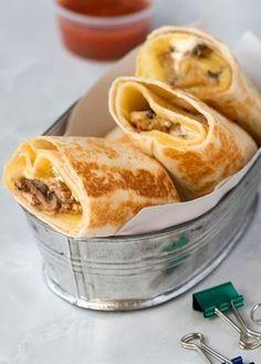 Receta para preparar unos deliciosos burritos de champiñones y queso, que no te puedes perder. Consulta nuestra revista Cocina Vital.