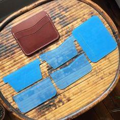 5 Pocket Card Wallet Acrylic Template Set
