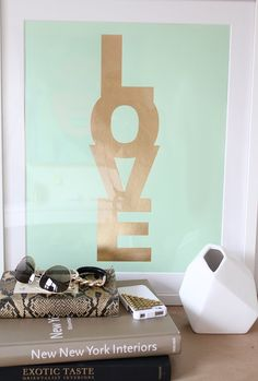 Mint and gold love