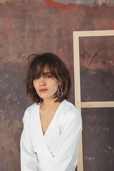 Coolest Hairstyle Ideas for Women Over 40 , Hairstyles, Short Hair With Bangs, Hairstyles With Bangs, Pretty Hairstyles, Short Hair Cuts, Hairstyle Ideas, Bangs Hairstyle, Brown Hair Bangs, Korean Hairstyles, Hair Inspo