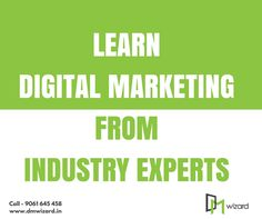 Learn Digital Marketing from the experts in the industry with our custom developed #DigitalMarketing certification course.  Enquire us for more info: 9061645458   www.dmwizard.in
