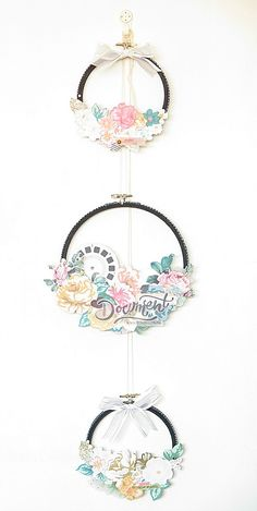 COLLECT :: Flower Revamped Embroidery Hoops - Crate Paper