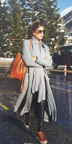 El street style de Juliana Awada para pasear por los Alpes suizos | Fashion TV