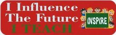 StickerTalk® Brand 10in x 3in Influence The Future Bumper Magnet