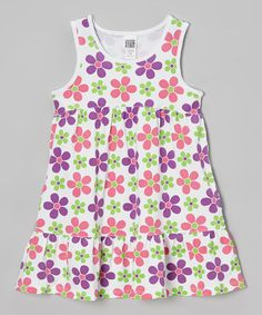 This Carnation Daisy Babydoll Dress - Toddler & Girls by Lemon Seed Kids is perfect! #zulilyfinds