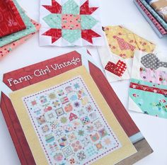 Why Not Sew?: Farm Girl Fridays - Welcome Block