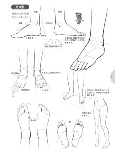 knickerweasels:  Drawing Feet and Shoes from 萌えキャラクターの描き方 (How...
