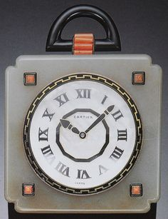 Cartier Art Deco Clock by Clive Kandel